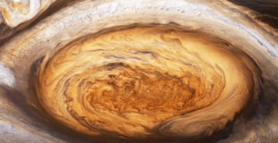 How smaller storms affect Jupiter's Great Red Spot