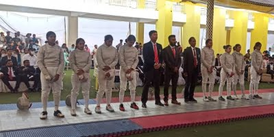 Services, Kerala retain team titles in national fencing