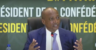 New CAF chief vows to improve African football