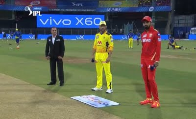 CSK win toss, opt to bowl against Punjab Kings