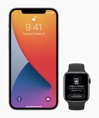 iOS 14.5: Unlock iPhone with Apple Watch with face mask on
