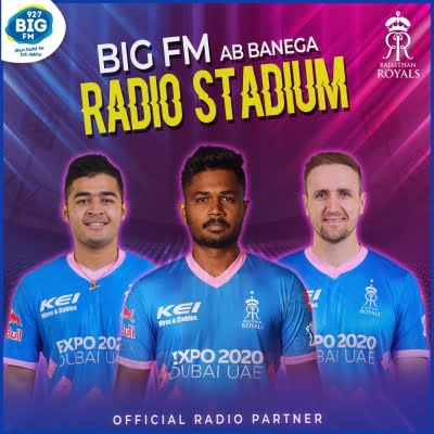BIG FM partners with Rajasthan Royals