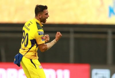 Chahar's 4-wicket haul helps CSK get first win of IPL 2021