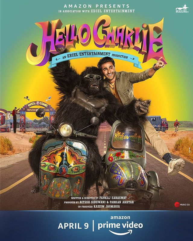 'Hello Charlie' Poster