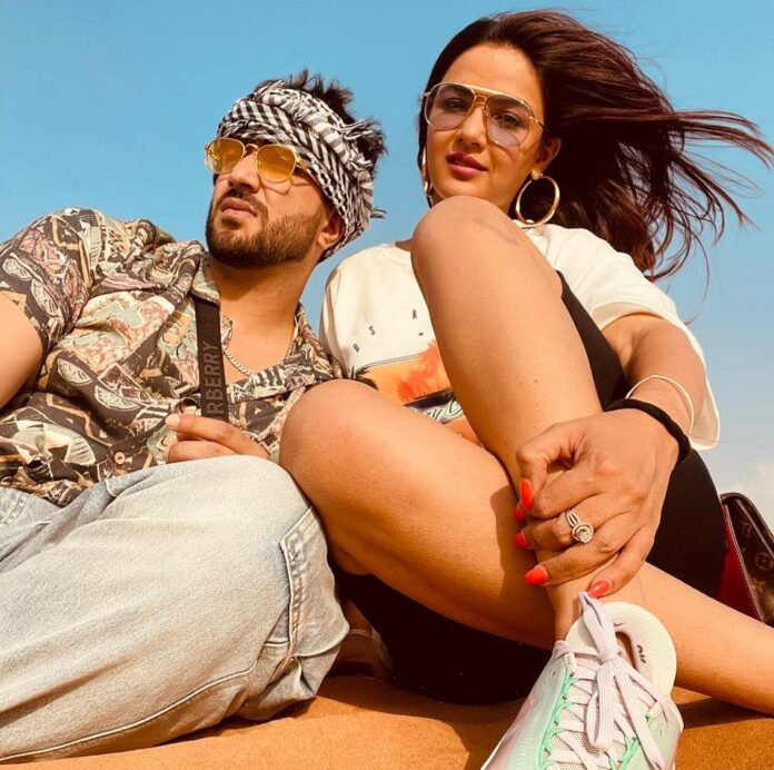 Aly Goni-Jasmin Bhasin's lovecation in Dubai