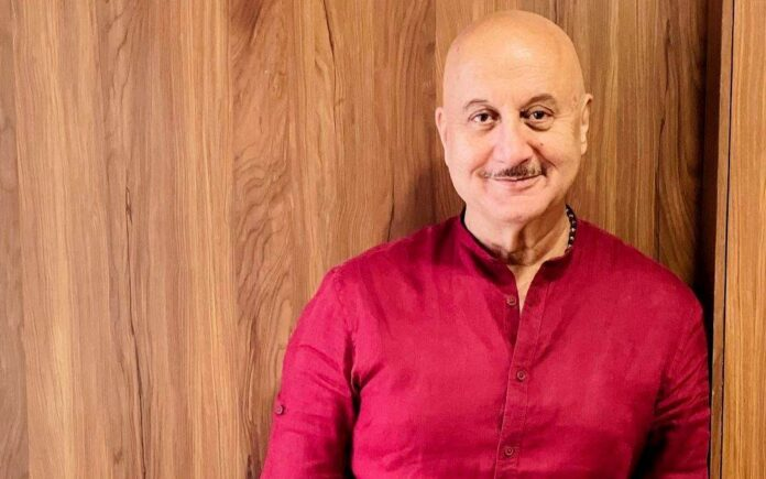 Anupam Kher: I see myself in new people