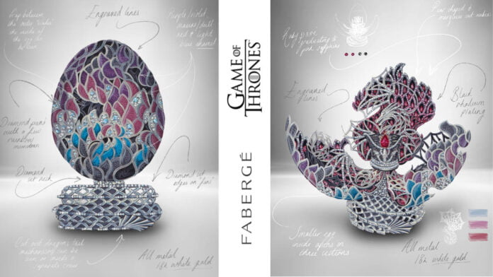 Fabergé unveils intricate 'Game of Thrones' Egg