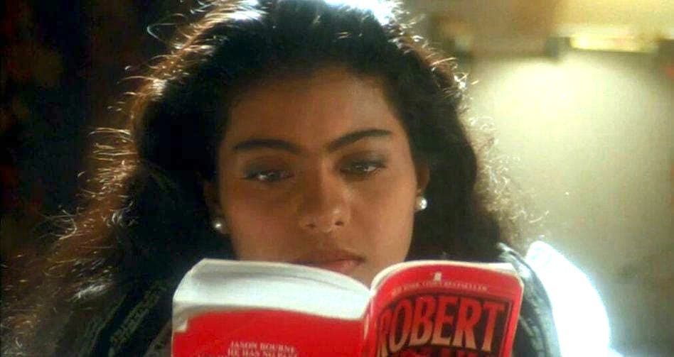 Kajol reveals what reading means to her