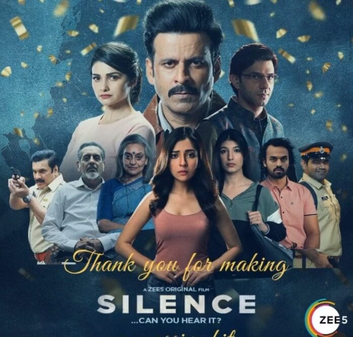 Manoj Bajpayee happy with 'Silence... Can You Hear It?' response   news agency pic