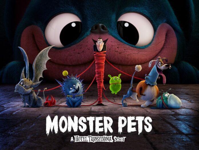 'Monster Pets', a 'Hotel Transylvania' short launched