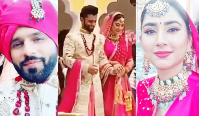 Rahul Vaidya and Disha Parmar's BTS pictures from upcoming music video gone viral
