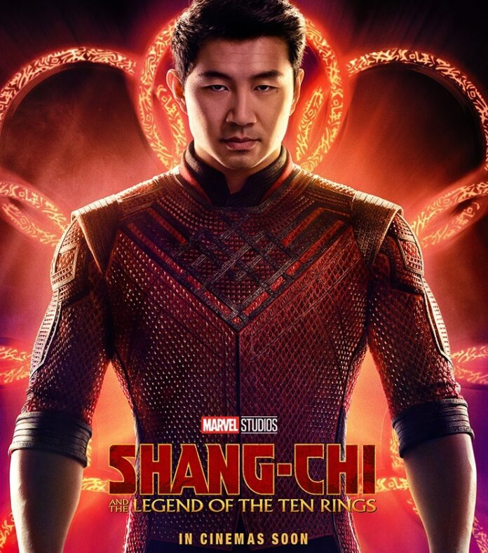 Simu Liu as Shang Chi in Marvel Studios' 'Shang Chi and the Legend of the Ten Rings' poster