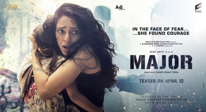 Sobhita Dhulipala first glimpse as hostage in 'Major'