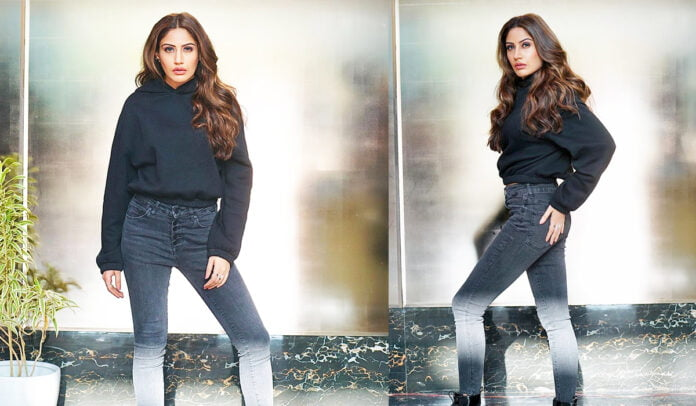 Surbhi Chandna giving Boss lady vibes in black outfit
