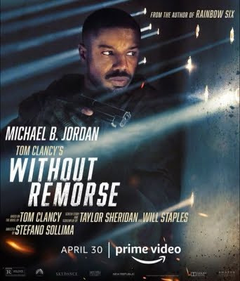Michael B Jordan in 'Without Remorse' poster
