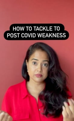 Sameera Reddy's tips to tackle post-Covid weakness