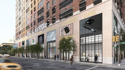 Google opening its first retail store in US this year
