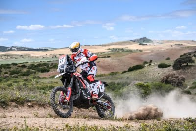 Hero MotoSports riders begin on a positive note