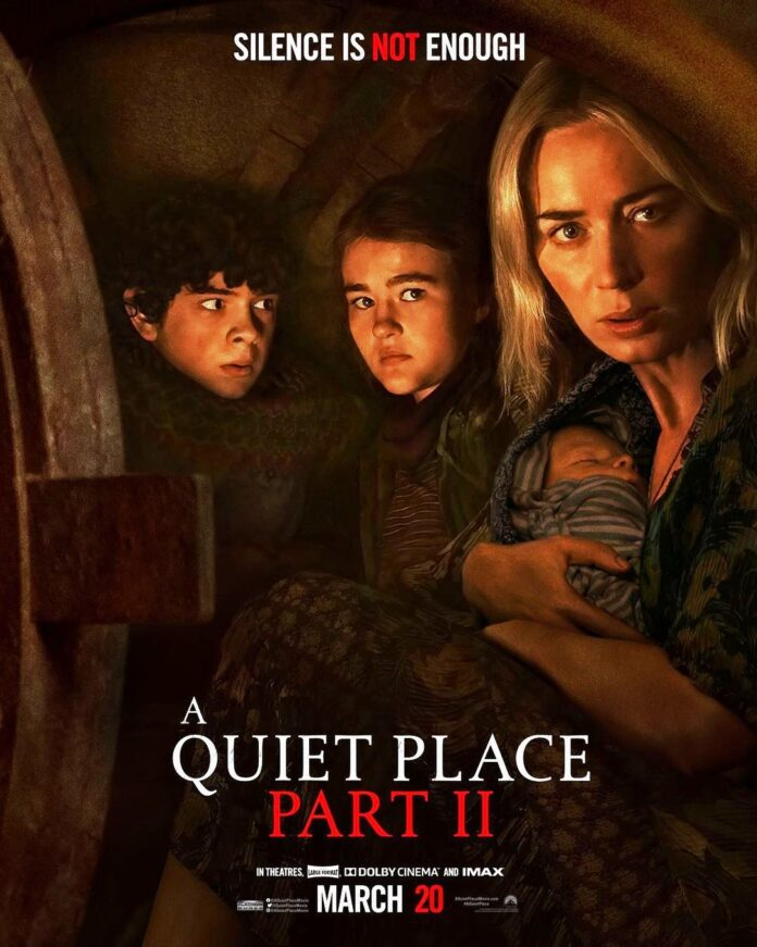'A Quiet Place Part II' sees $48mn first weekend