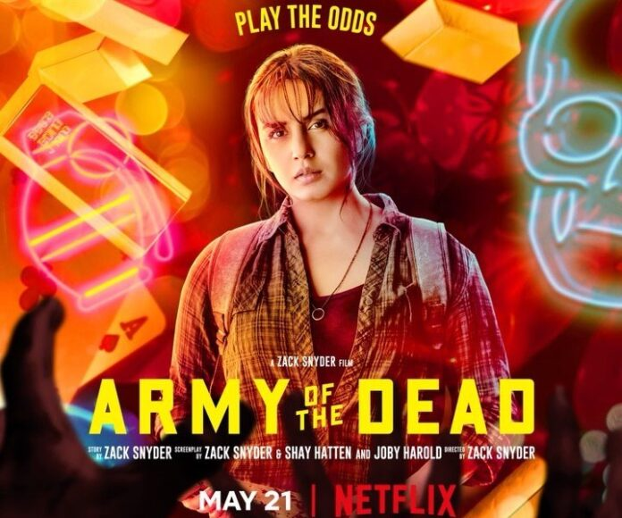 Huma Qureshi's first look in her Hollywood debut 'Army Of The Dead'