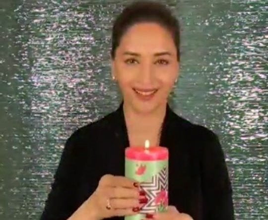 Madhuri Dixit singing debut 'Candle' completes one year