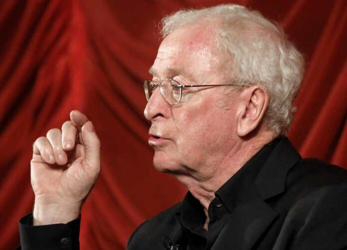 Michael Caine never knew drama schools existed!