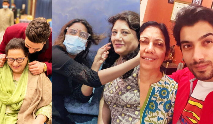 Mother's Day 2021 Aly Goni, Surbhi Chandna, Sharad Malhotra and other celebs wished their mommies