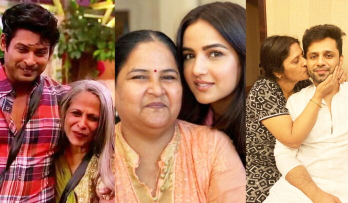 Mother's Day 2021 Sidharth Shukla, Jasmin Bhasin, Rahul Vaidya and other celebs lovely pictures with their mothers