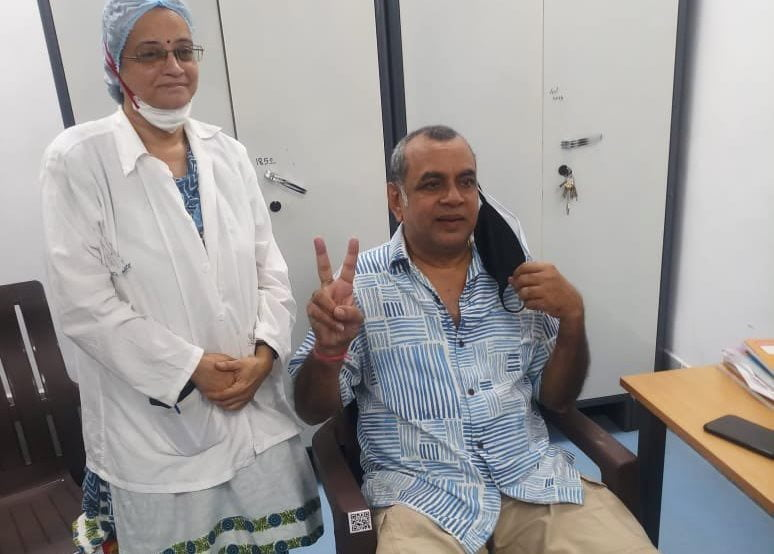 Paresh Rawal reacts to the hoax with humour