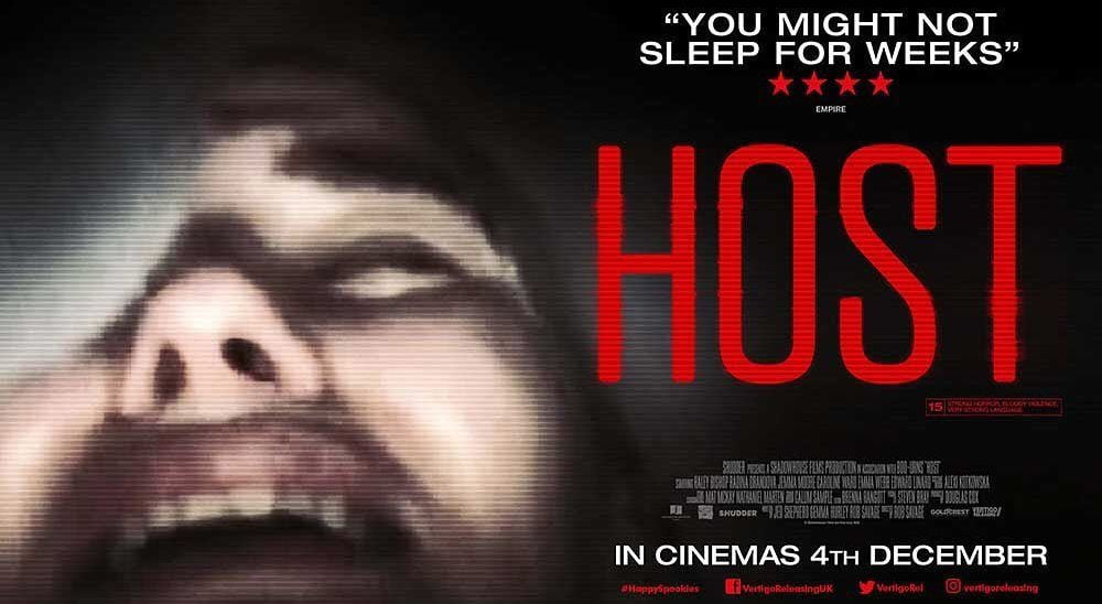 Rob Savage's horror film 'Host' had only a 17-page script