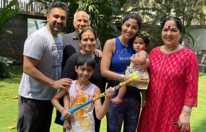 Shilpa Shetty's family tests positive for Covid