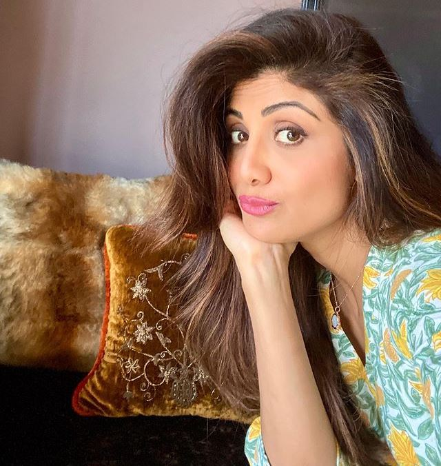 Shilpa Shetty is her son's Goddess of death!