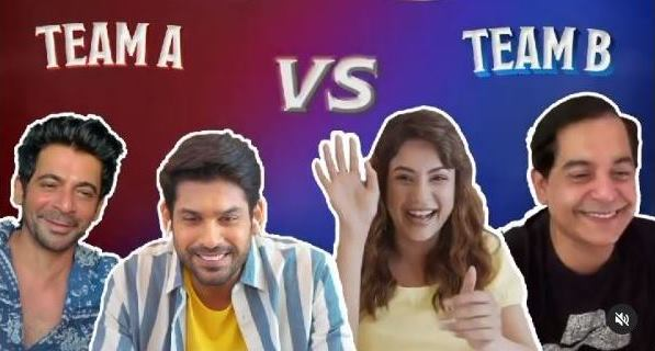 Sidharth Shukla-Shehnaaz Gill join the LOL: Hasse Toh Phasse