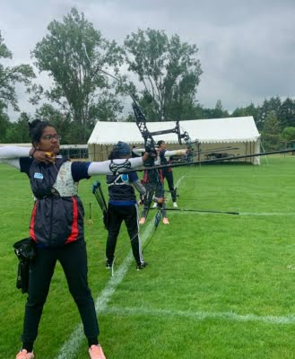 Indian women archers lose, crash out of Olympic contention