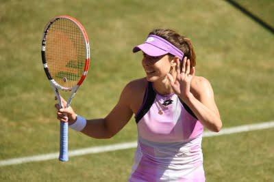 Wimbledon: Alize shows fifth seed Bianca the door in opening round