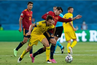 Spain held to goalless draw by Sweden