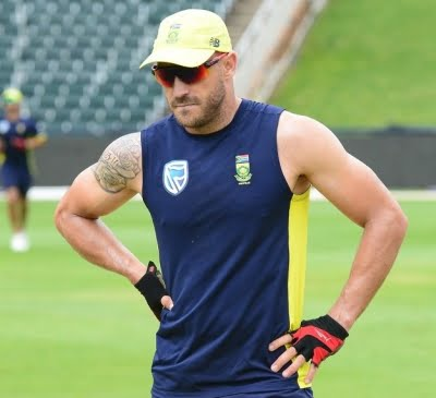 Wife of injured du Plessis wants a system for player emergency