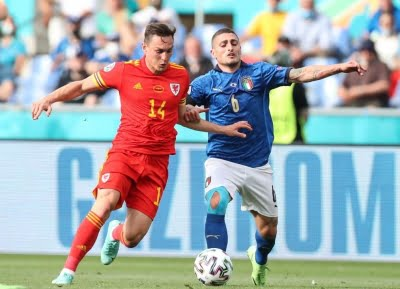 Euro 2020: Italy beat Wales 1-0, but both sides into last 16