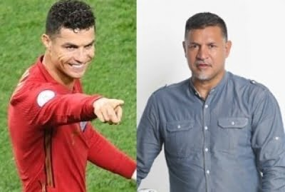 Iran's Daei pays tribute to Ronaldo after he equals his 109-goal world record