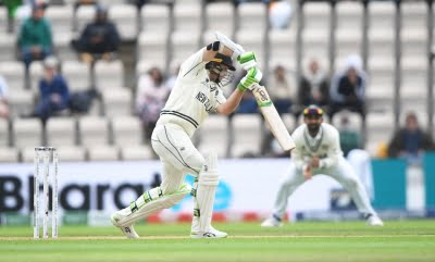 WTC final: New Zealand 101/2, replying to India's 217 (Close)