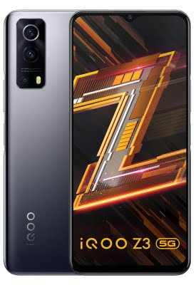 iQOO Z3 5G with Snapdragon 768G chip launched in India