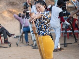 Sunny Leone takes aim for the heart in new post