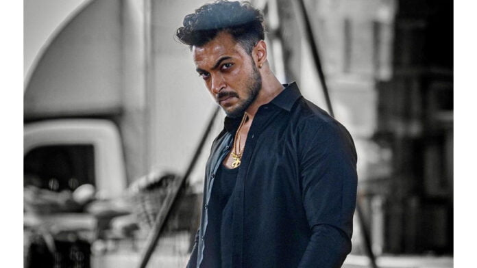 Aayush Sharma shares glimpse from 'Antim: The Final Truth'