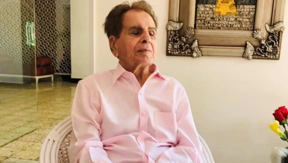Dilip Kumar hospitalised, second time in 2 months