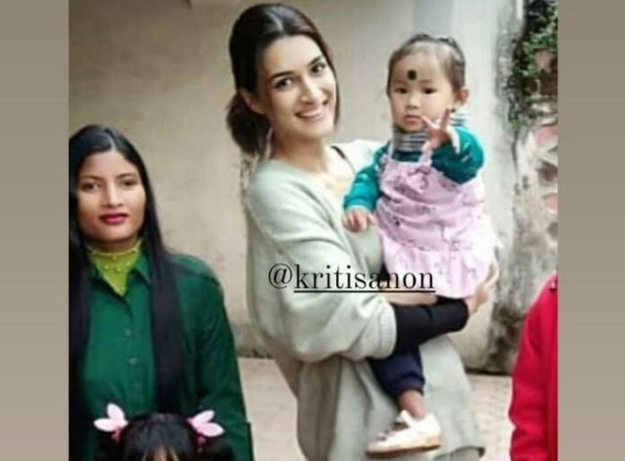 Kriti Sanon makes up for a girl's 'missed cake'