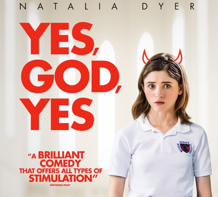 Natalia Dyer: Religion is beautiful, but important to take a step back from it at times