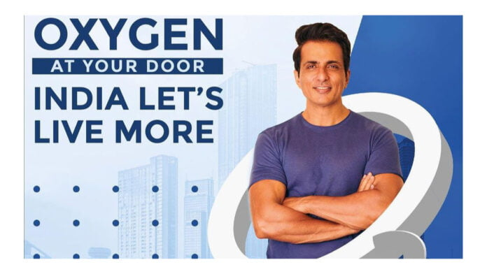 Sonu Sood to set up O2 plants in over 16 states