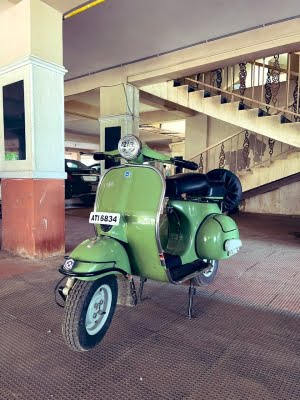 Azhar posts photos of old scooter -- 'acknowledgment of my talent'