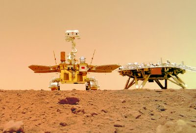 China shares Zhurong rover's landing footage, sounds from Mars