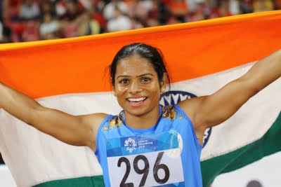 Dutee powers India A to win with national record in Indian GP relay